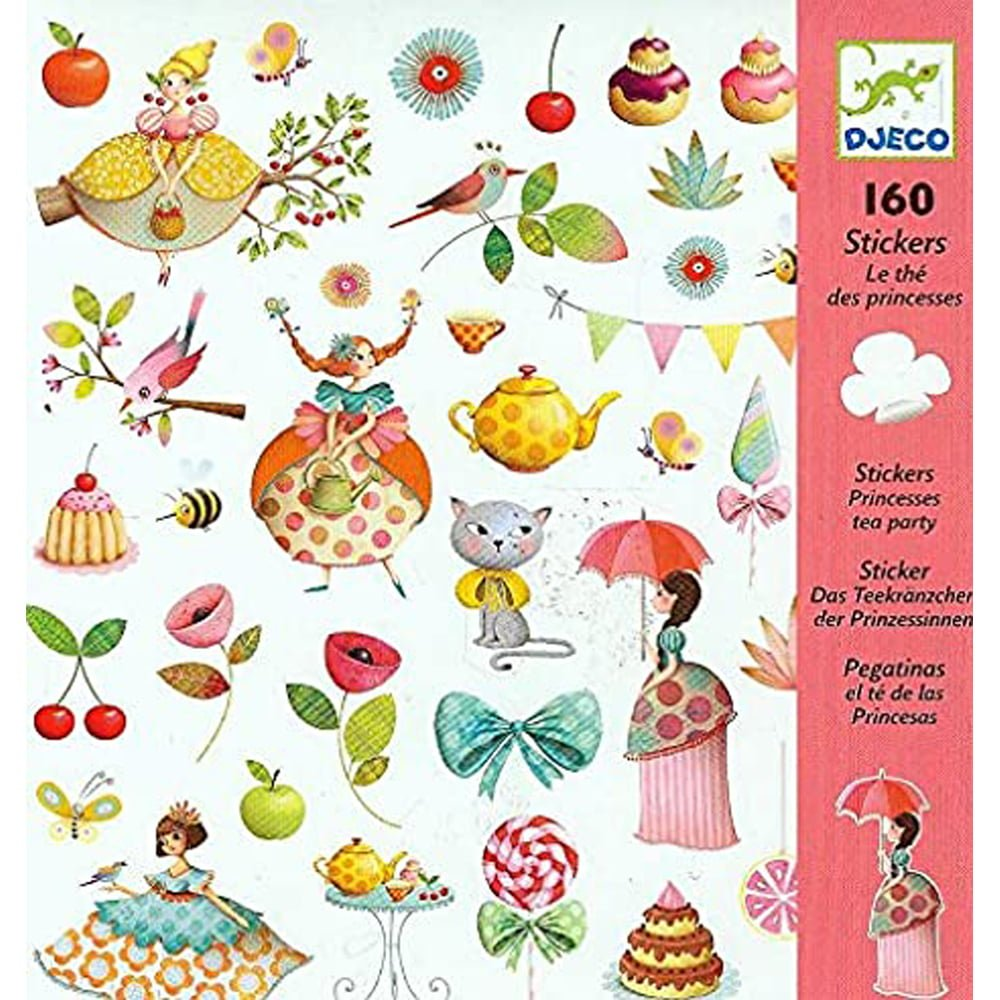 Whirligig Toys - Tea Party Stickers1