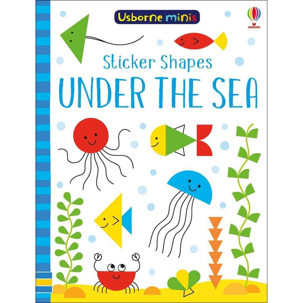 Whirligig Toys - Under The Sea Sticker Shapes Mini Book1