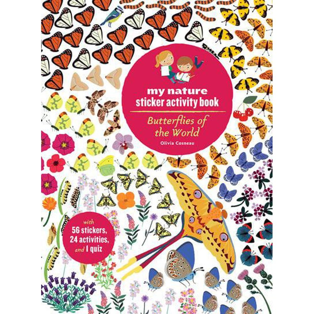 Whirligig Toys - Butterflies Of The World Stickerbook1