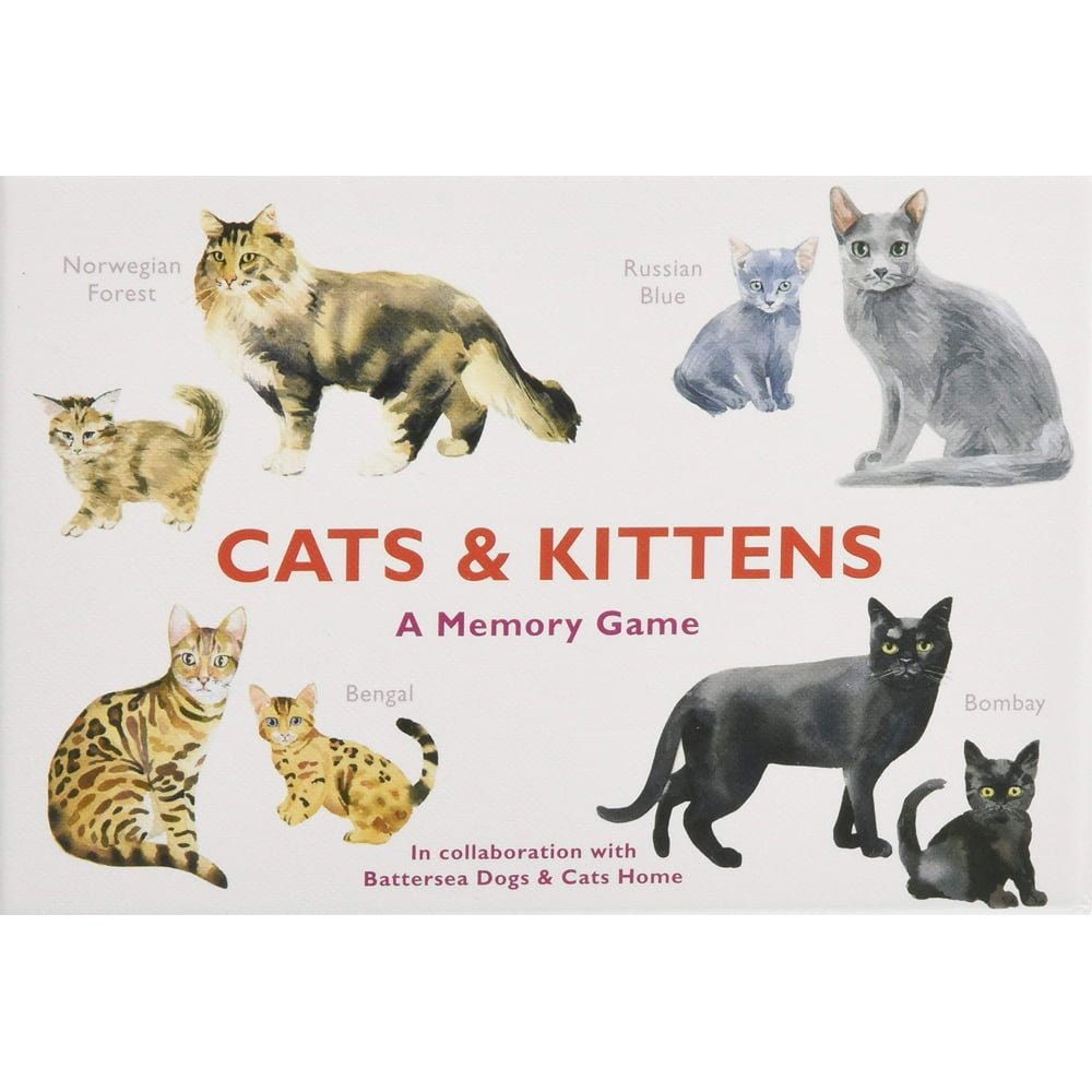 Whirligig Toys - Cats and Kittens Memory Game1