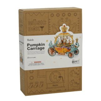 Whirligig Toys - Pumpkin Carraige Music Box1
