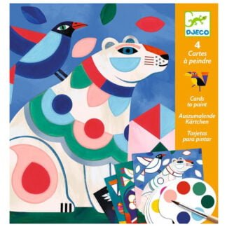 Whirligig Toys - Animal Painting Cards1