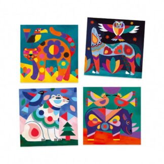 Whirligig Toys - Animal Painting Cards2