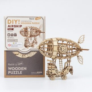 Whirligig Toys - Wooden Airship Model2