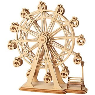 Whirligig Toys - Wooden Ferris Wheel Model1