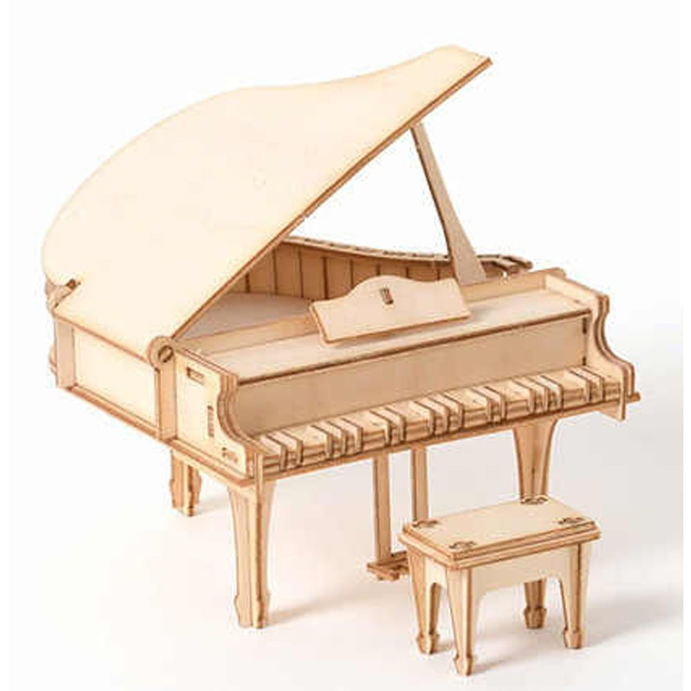 Whirligig Toys - Wooden Grand Piano Model1