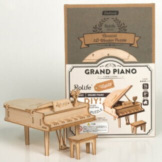 Whirligig Toys - Wooden Grand Piano Model2