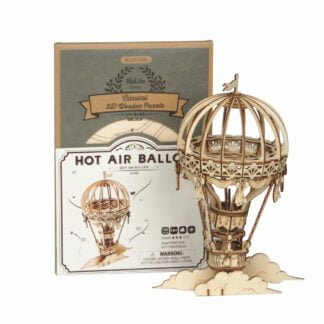 Whirligig Toys - Wooden Hot Air Balloon Model2