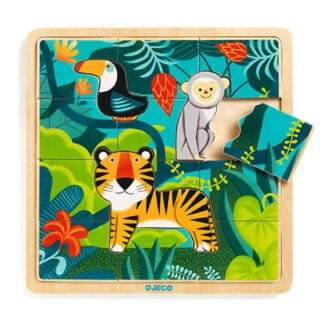 Whirligig Toys - Wooden Jungle Jigsaw1