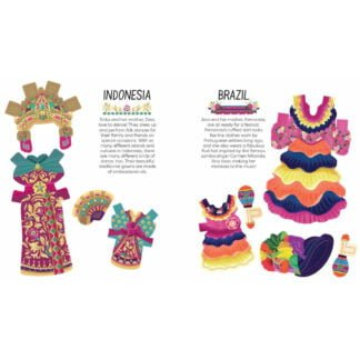 Whirligig Toys - Costumes Of The World Dress Up2