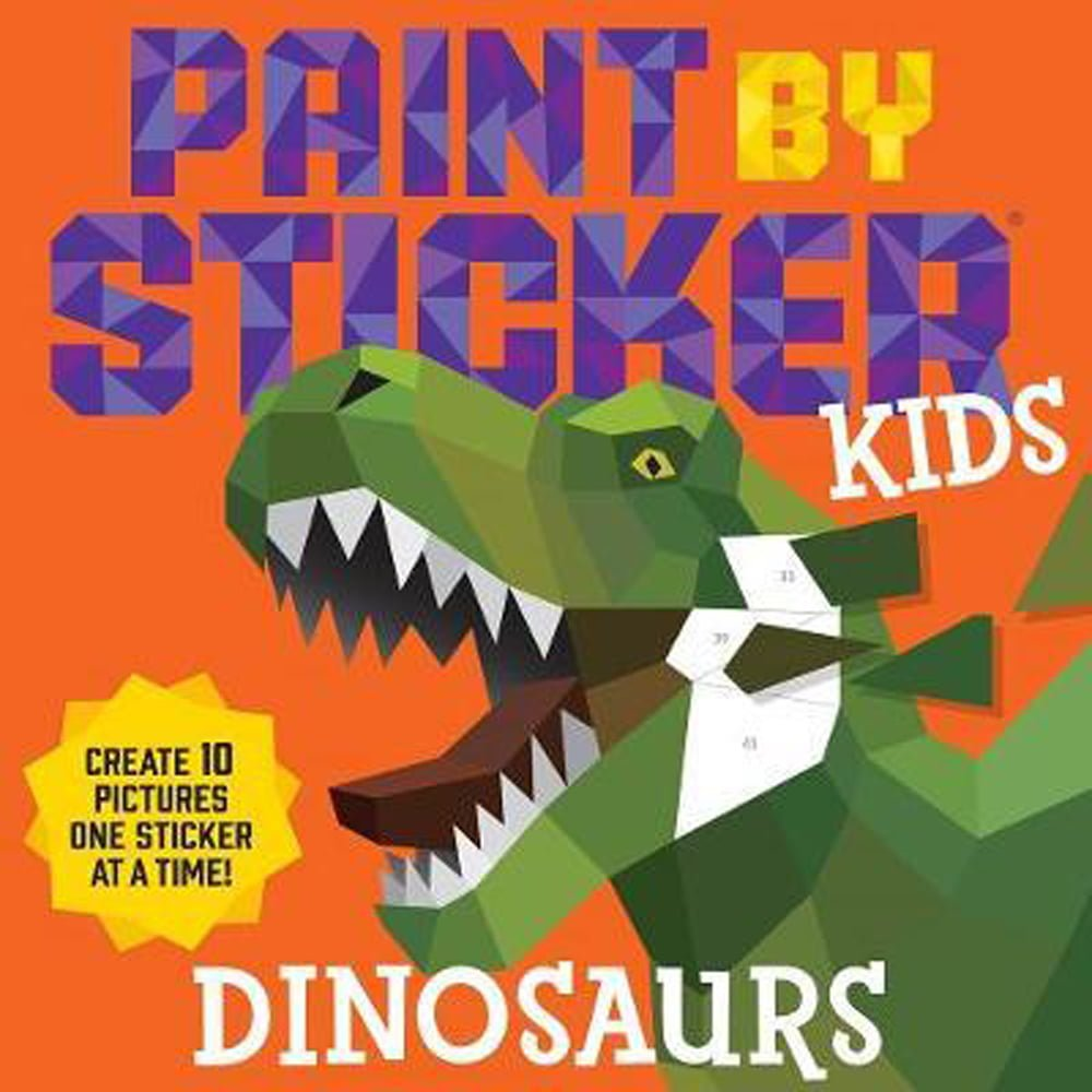 Whirligig Toys - Dinosaur Paint By Sticker1