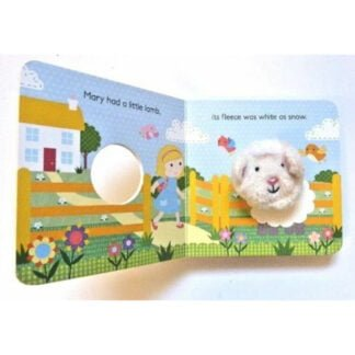 Whirligig Toys - Finger Puppet Mary Had A Little Lamb2