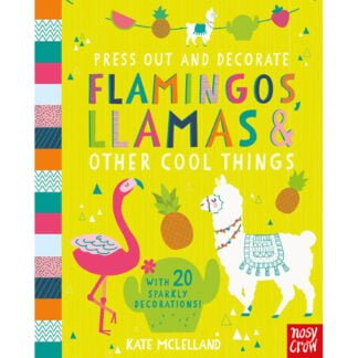 Whirligig Toys - Flamingos & Llamas To Press Out & Decorate1