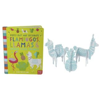 Whirligig Toys - Flamingos & Llamas To Press Out & Decorate2