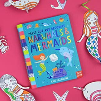 Whirligig Toys - Narwhals and Mermaids To Press Out & Decorate2