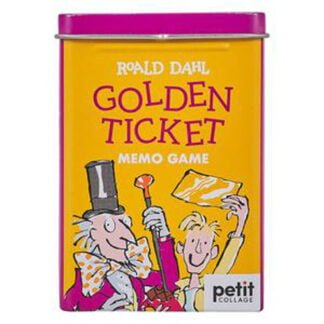 Whirligig Toys - Roald Dahl Golden Ticket Memory Game1