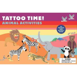 Whirligig Toys - Tattoo Time Animal Activities1