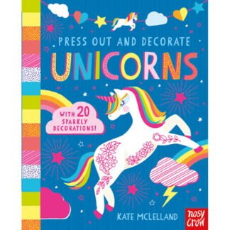 Whirligig Toys - Unicorns To Press Out & Decorate1