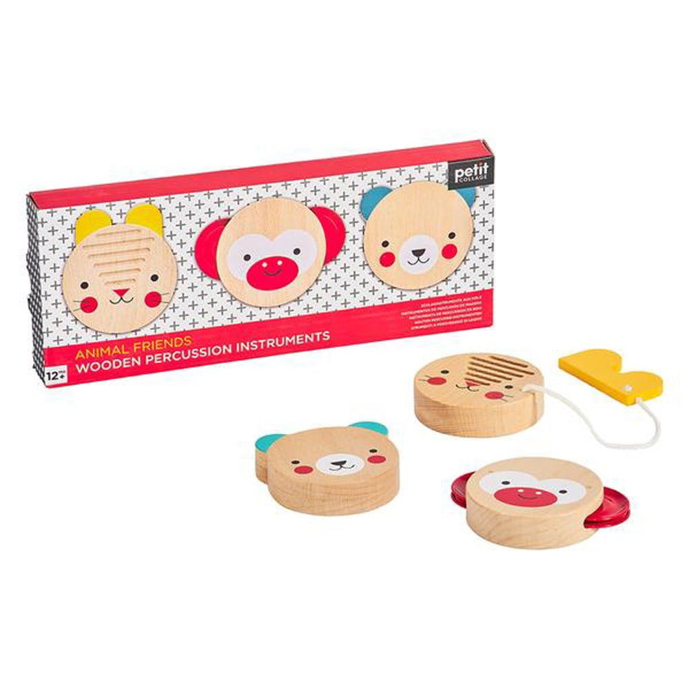 Whirligig Toys - Wooden Percussion Set1