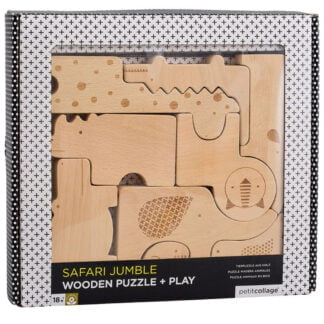 Whirligig Toys - Wooden Safari Jumble1