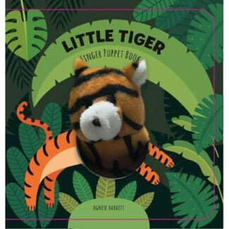 Whirligig Toys - Little Tiger Finger Puppet Book1