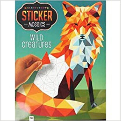 Whirligig Toys - Paint By Sticker Wild Creatures1