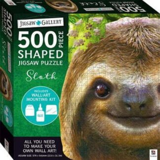 Whirligig Toys - Sloth Shaped Puzzle1