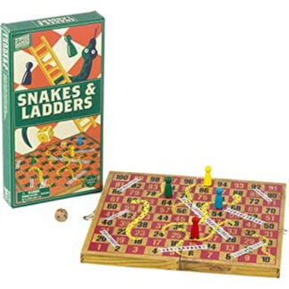 Whirligig Toys - Wooden Snakes and Ladders2
