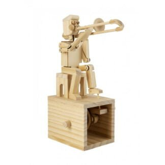 Whirligig Toys - Wooden Trombone Player1