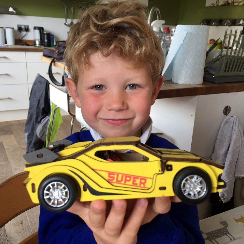 Whirligig Toys - I Made This Sportscar