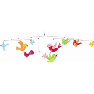 Whirligig Toys - Colourful Birds Mobile2