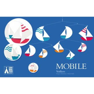 Whirligig Toys - Sailboats Mobile1