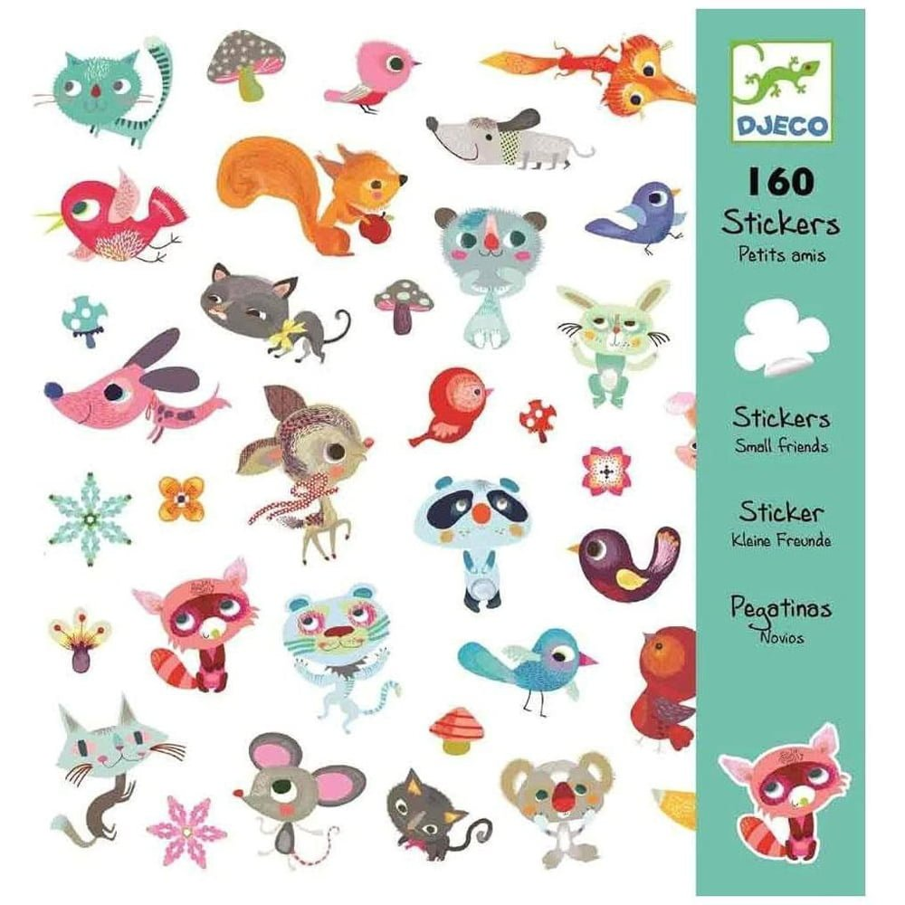Whirligig Toys - Small Friends Stickers1