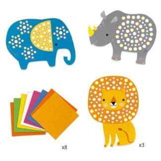 Whirligig Toys - Sticker Mosaic Jungle2