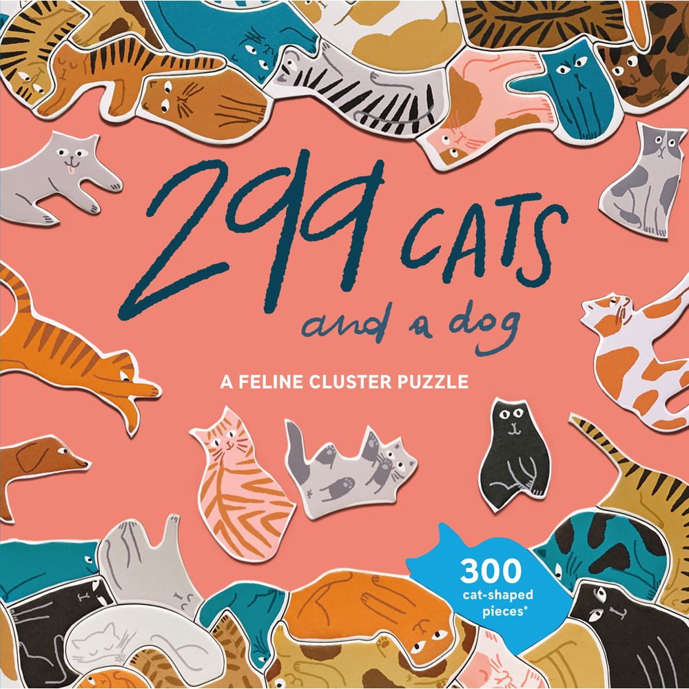 Whirligig Toys - 299 Cats Jigsaw1
