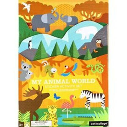 Whirligig Toys - Animal World Stickers1
