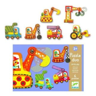 Whirligig Toys - Articulated Vehicles Jigsaws2
