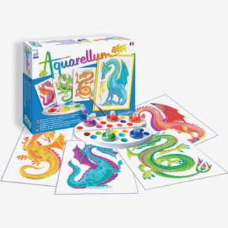 Whirligig Toys - Wax Painting Dragons2