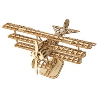 Whirligig Toys - Wooden Airplane Model2