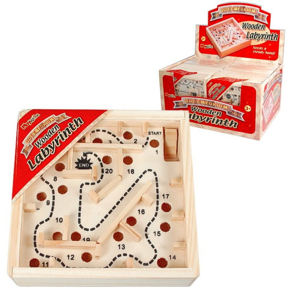 Whirligig Toys - Wooden Labyrinth1
