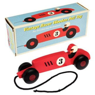 Whirligig Toys - Wooden Vintage Racing Car1