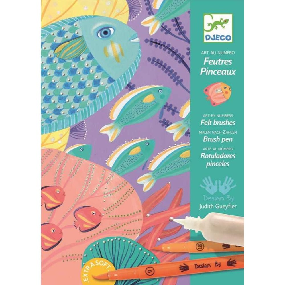 Whirligig Toys - Colour By Numbers Fish1