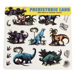 Whirligig Toys - Prehistoric Land Stickers1