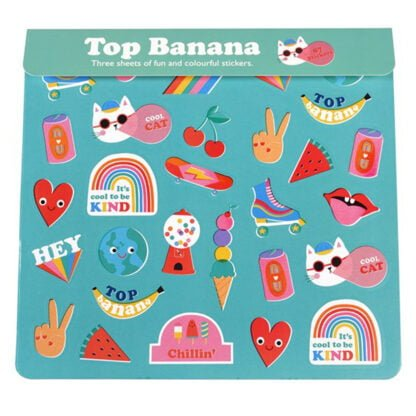 Whirligig Toys - Top Banana Stickers1