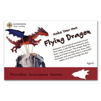 Whirligig Toys - Wooden Flying Dragon1