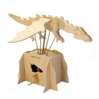 Whirligig Toys - Wooden Flying Dragon2