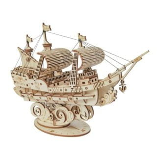 Whirligig Toys - Wooden Sailing Ship2
