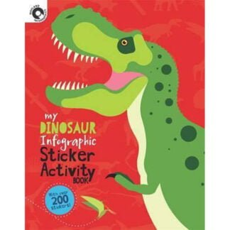 Whirligig Toys - Dinosaur Infographic Stickers1