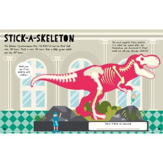 Whirligig Toys - Dinosaur Infographic Stickers2