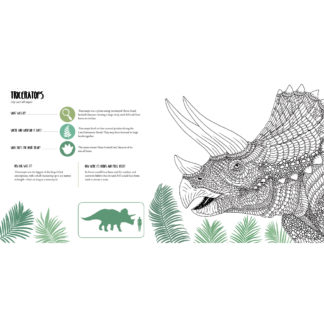 Whirligig Toys - Dinosauria Colouring2